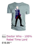 Doctor Who - 100% Rebel Time Lord